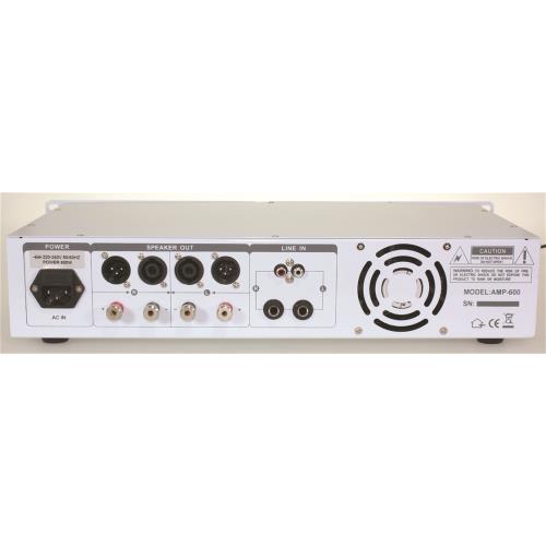 Ibiza Sound AMP1000-WH Disco versterker 2 x 800w - wit (2)