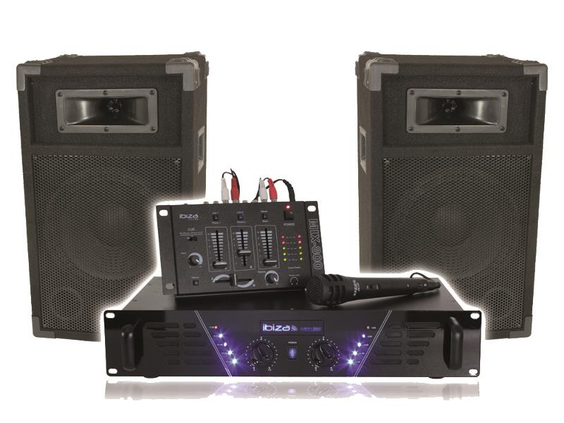 Ibiza Sound DJ300 Super disco geluidskit dj-300 (1)