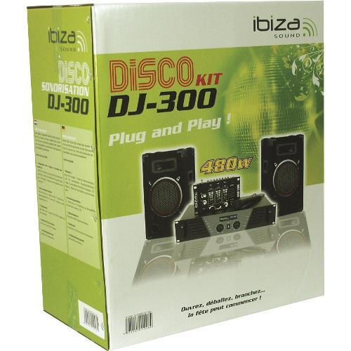 Ibiza Sound DJ300 Super disco geluidskit dj-300 (2)