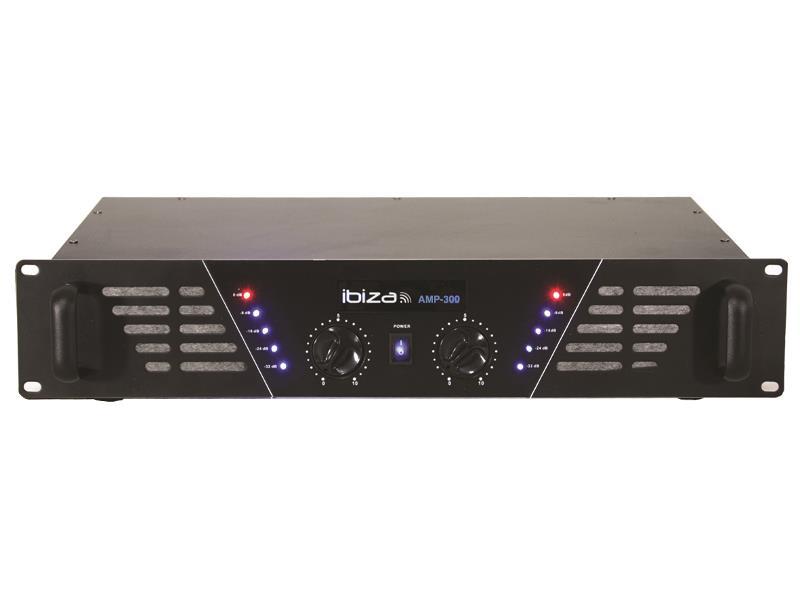 Ibiza Sound AMP300 Disco versterker 2 x 240w (1)
