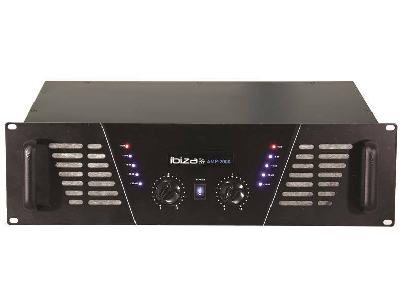 Ibiza Sound AMP2000 Disco versterker 2 x 1500w (1)