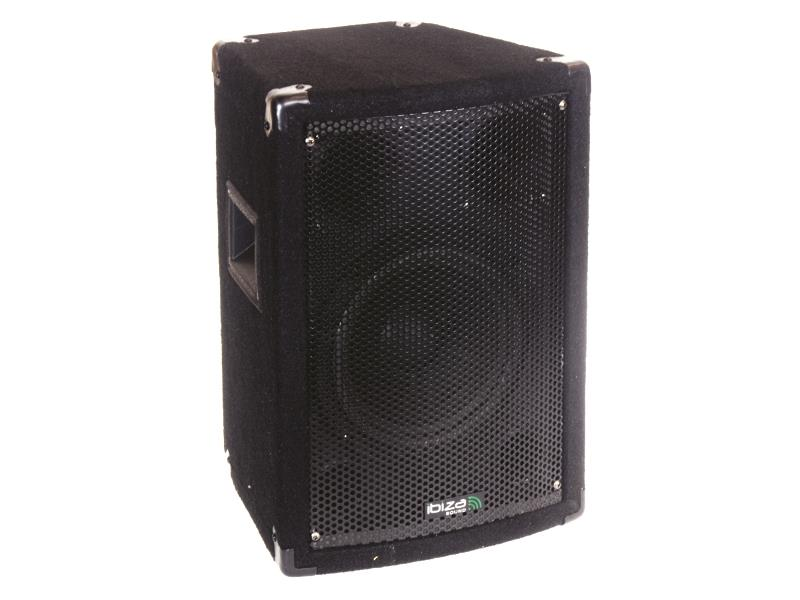 Ibiza Sound DISCO8B Trapezvormige 3-weg luidsprekerbox 20cm (1)