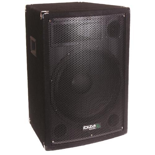 Ibiza Sound DISCO15B Trapezevormige 3-weg luidsprekerbox 38cm 700w (1)