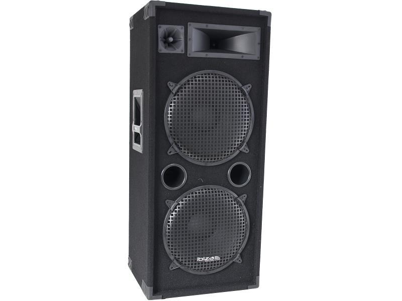 Ibiza Sound STAR212 3-way disco column speakers (1)