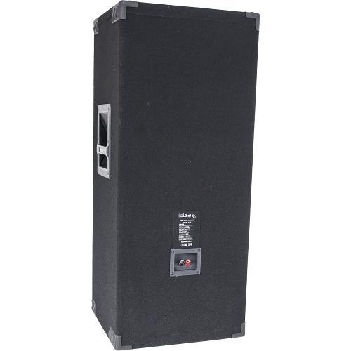 "Ibiza Sound STAR215 3-way disco column speakers 2 x 15""/38cm - 1000w (2)"