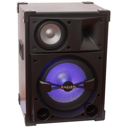 """Ibiza Sound SPL12 3-weg disco box 12""""/30cm - 600w (2)"""