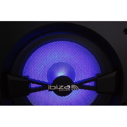 """Ibiza Sound SPL12 3-weg disco box 12""""/30cm - 600w (4)"""