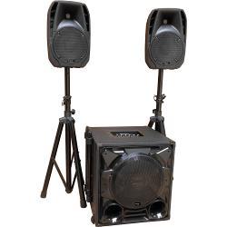 """Ibiza Sound CUBE1100-BT 2.1 aktief geluidsysteem 12""""/30cm 1100w (1)"""