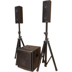 "Ibiza Sound CUBE104 2.1 aktief geluidsysteem 10""/25cm 800w (1)"