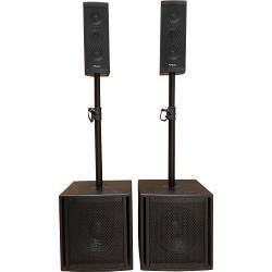 "Ibiza Sound CUBE204 2.2 aktief geluidsysteem 10""/25cm 1200w (1)"