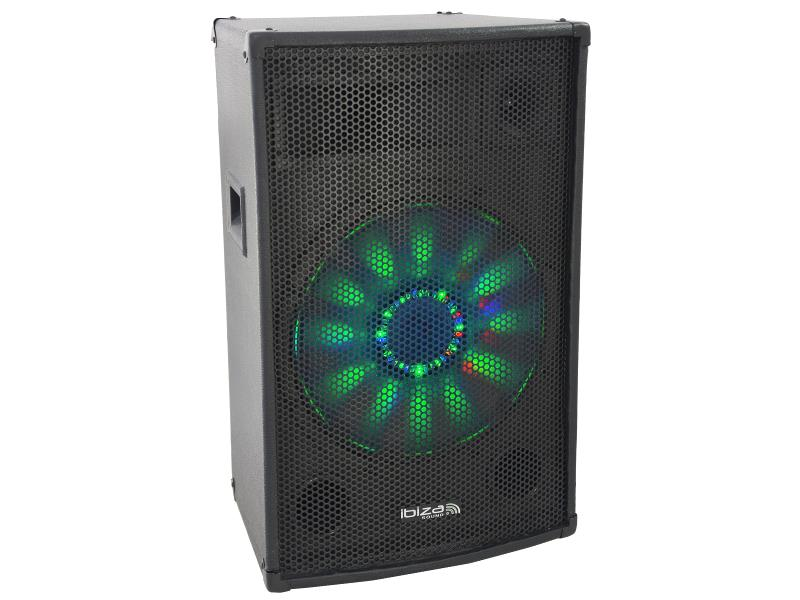 "Ibiza Sound X-LED8 3-weg disco box 8""/20cm 200w (1)"