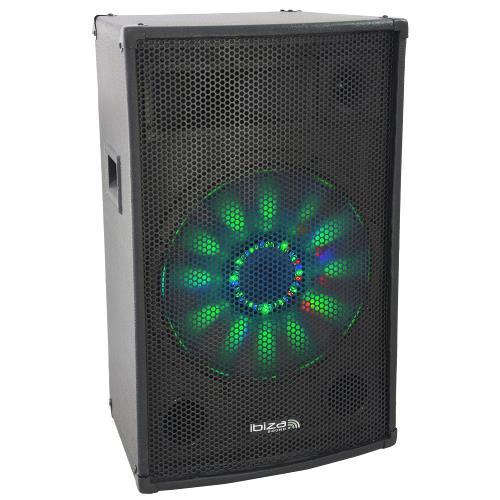 "Ibiza Sound X-LED12 3-weg disco box 12""/30cm 600w (1)"