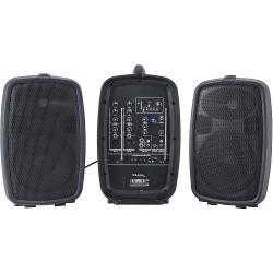 """Ibiza Sound COMBO208-VHF Compact, draagbaar geluidsysteem 8""""/20cm - 150w (1)"""