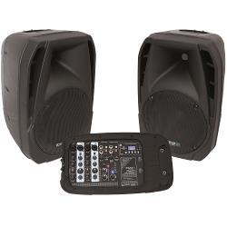 """Ibiza Sound COMBO210 Compact, draagbaar geluidsysteem 10""""/25cm - 300w (1)"""