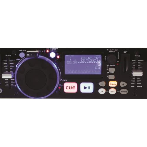 Ibiza Sound IDJ2 Dubbele usb/sd controller met scratch (2)