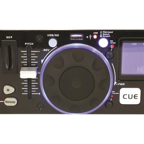 Ibiza Sound IDJ2 Dubbele usb/sd controller met scratch (3)