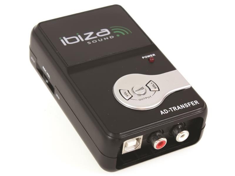 Ibiza Sound AD-TRANSFER Analoog naar digitaal muziek omvormer (1)
