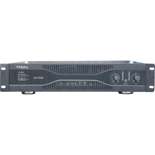 Ibiza Sound SA2000 Vermogensversterker 2 x 1000w (1)