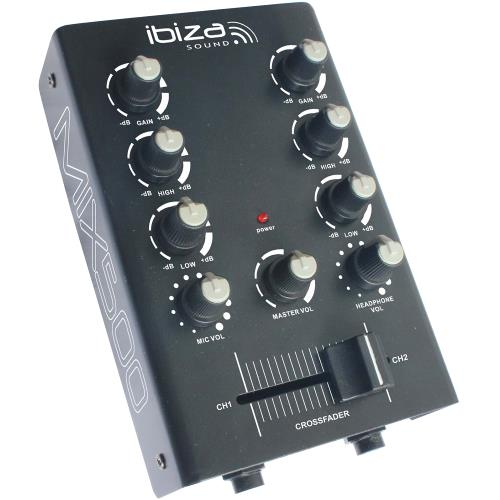 Ibiza Sound MIX500 2-kanaals mengpaneel (1)