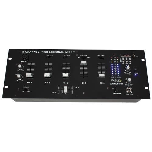 "Ibiza Sound DJM90USB-BT 19"" mixer met usb/sd speler + bluetooth (2)"