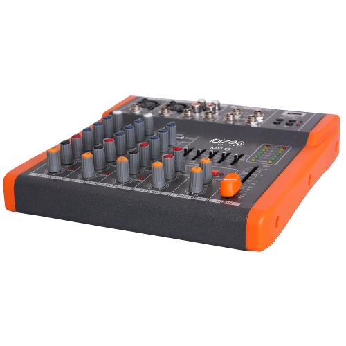 Ibiza Sound MX401 Compacte 4-kanaals muziek mengpaneel (2)