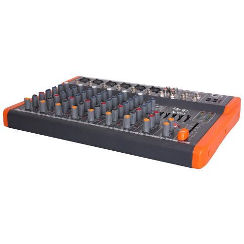 Ibiza Sound MX801 Compacte 8-kanaals muziek mengpaneel (2)