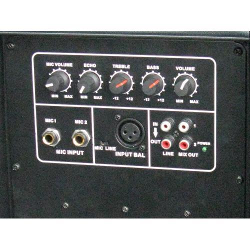 """Ibiza Sound XTK10A Aktieve abs discobox 10""""/25cm - 300w (2)"""