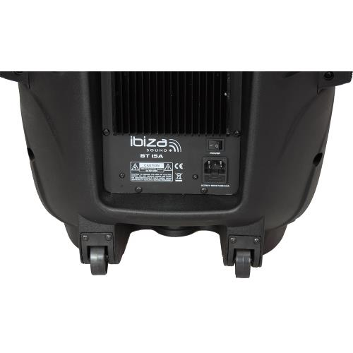 """Ibiza Sound BT12A Actieve speaker met usb/sd speler + bluetooth 12""""/30cm - 450w (3)"""