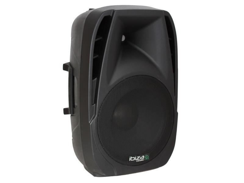 """Ibiza Sound BT15A Actieve speaker met usb/sd speler + bluetooth 15""""/38cm - 500w (1)"""