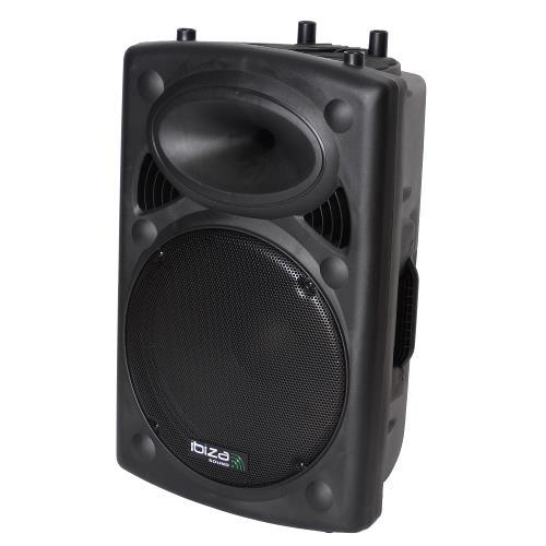 """Ibiza Sound SLK15A-BT Actieve speakerbox 15""""/38cm 800w met usb-mp3  & bluetooth (1)"""