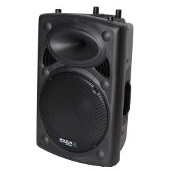 "Ibiza Sound SLK15A-BT Actieve speakerbox 15""/38cm 800w met usb-mp3  & bluetooth (1)"