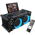 Ibiza Sound SPLBOX200-BK Draagbaar  audio stereo systeem met batterij, bluetooth, usb, sd & fm tuner (1)