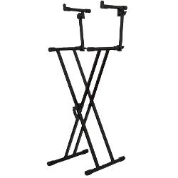 Ibiza Sound SK003 Double keyboard stand (1)