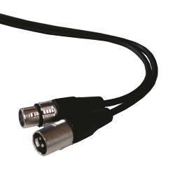 Ibiza Sound CM1.5XXF Muziekkabel xlr naar xlr contra 1,5m (1)