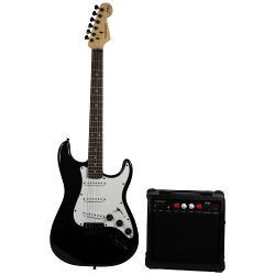 Madison MADISON-STRAT10BL Madison vintage elektrische gitarreset - zwart (1)