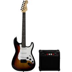 Madison MADISON-STRAT10SUN Madison vintage elektrische gitarreset - sunburst (1)