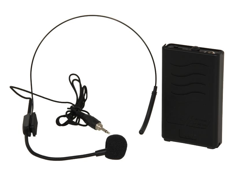 Ibiza Sound PORTHEAD12-2 Draadloze headset microfoon 207.5mhz (1)