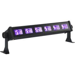Ibiza Light LED-UVBAR6 6 x 3w mini uv bar (1)