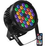 Ibiza Light PARLED-302IR 30 x 2w rgba-uv par with dmx / irc (1)