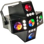 Ibiza Light CROSS-GOBOFX Dmx 2-in-1 rgba led lichte effect met 20 gobo's & strobo (1)