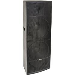 Ibiza Sound PA215 2x 15''-38cm pa speaker 800w epoxy paint /pce (1)