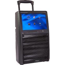 Ibiza Sound PORT-TFT12 Karaoke set met tft scherm, oplaadbaar en twee microfoons (1)