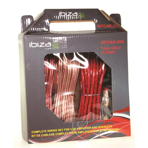 Ibiza Car KITCAR30A Complete auto kabelset 30a (2)