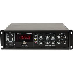 LTC Audio PAA80BT 80w public address versterker met bluetooth, usb-mp3 & fm tuner (1)