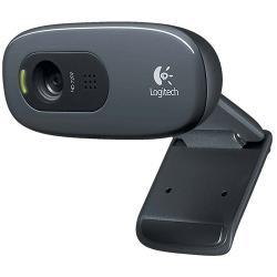 Logitech 960-001063 Webcam USB 2.0 3 MPixel 720P Zwart