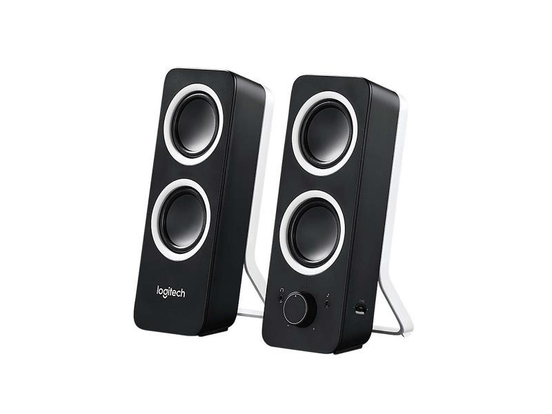 Logitech 980-000810 Speaker 2x 3.5 mm 5 W Zwart