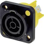 Neutrik NAC3FPX Panel mount socket Polen 3