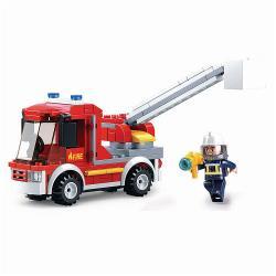 Sluban M38-B0632 Bouwstenen Fire Serie Small Firetruck