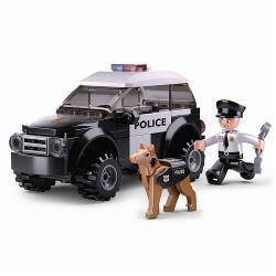 Sluban M38-B0639 Bouwstenen Police Serie K9 Unit