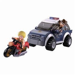 Sluban M38-B0650 Bouwstenen Police Serie Jeep